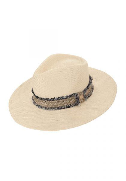 Melissa Odabash Blake Hat Cream