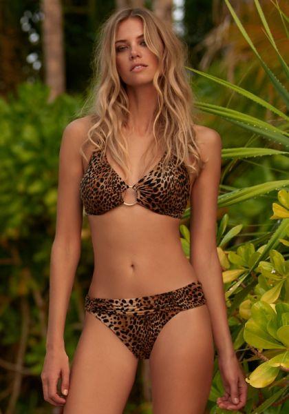 Melissa Odabash Brussels Bikini Cheetah