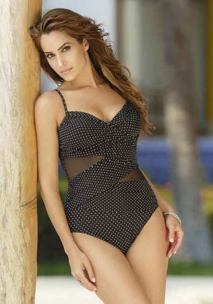 Miraclesuit Pin Point Mystify Swimsuit