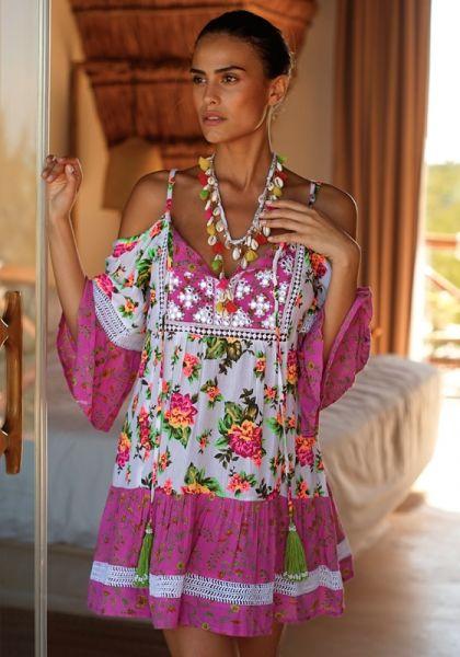Miss June Tropical Dress