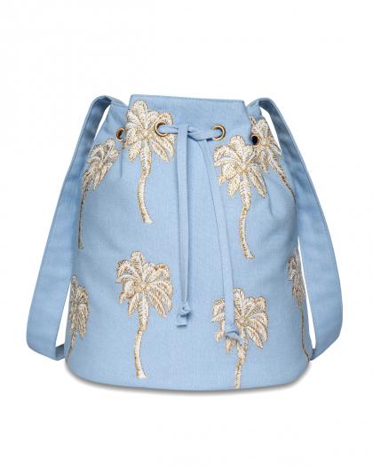 Palmen Cambric Beuteltasche