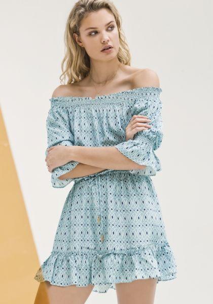 Paloma Blue Calypso Dress Aqua