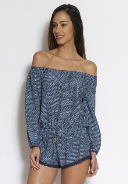 Paloma Blue Hamptons Playsuit