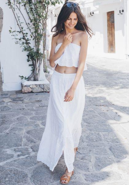 Pampelone Gypset Maxi Skirt
