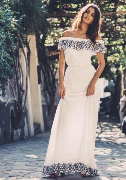Pampelone Loren Maxi Dress