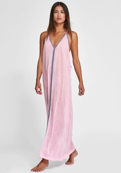 Pitusa cheetah Sun Dress Light Pink