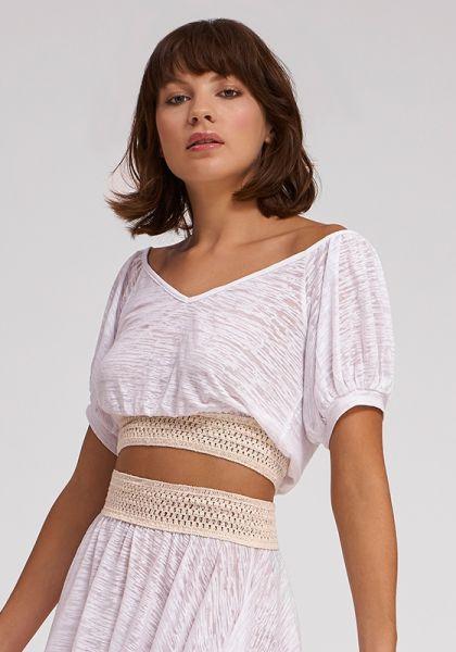 Pitusa Crochet Top