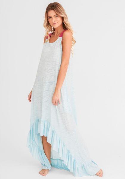 Pitusa Inca Basic Dress Aqua