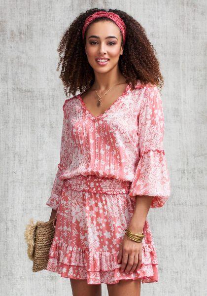 Poupette St Barth Mini Ilona Dress Pink