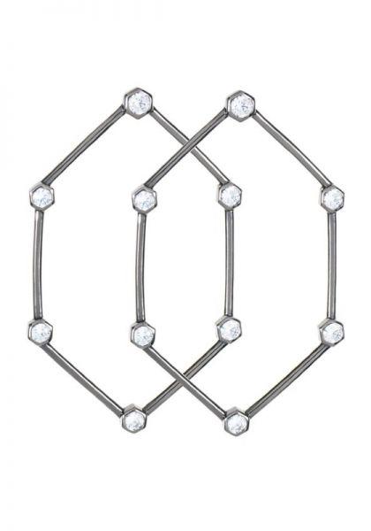 Rosie Fortescue Hexagon Earring
