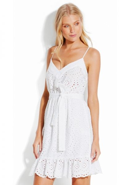 Seafolly White Broderie Dress