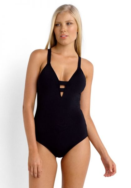 Seafolly Active Deep v Swimsuit