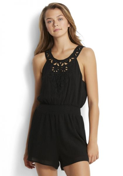 Seafolly Geo Lace Playsuit