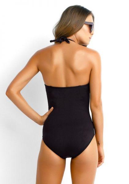 ea983cac175 Seafolly   Goddess Twist Swimsuit Black   Beach Cafe UK