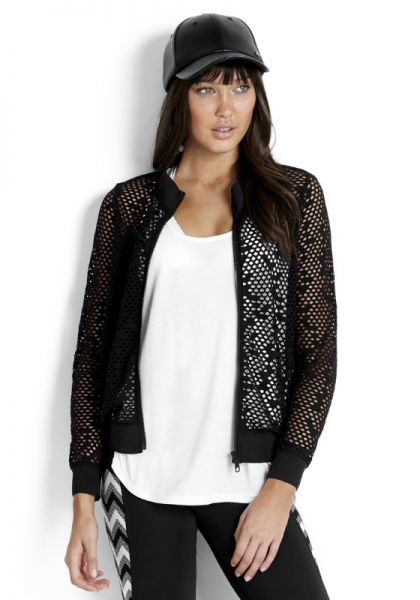 Seafolly | Horizon Luxe Sheer Mesh Jacket