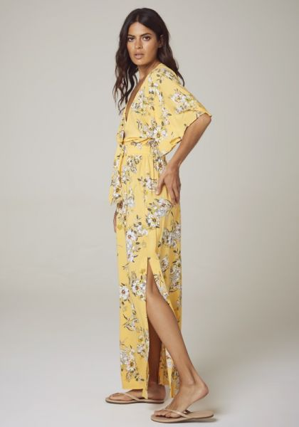 35332f1369 Seafolly | Midsummer Maxi Dress Buttercup | Beach Cafe UK