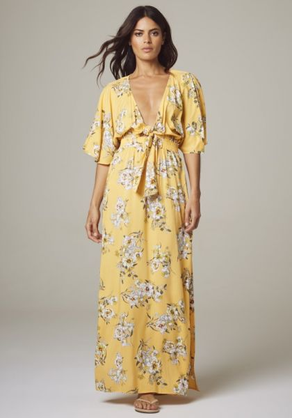 Midsummer Maxi Dress Buttercup