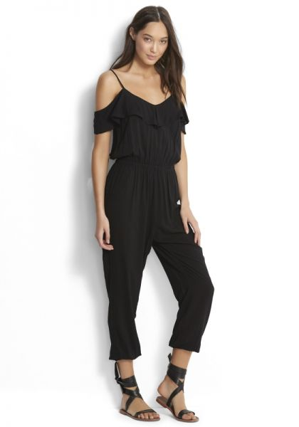 Seafolly Ruffle Off Shoulder Jumpsuit
