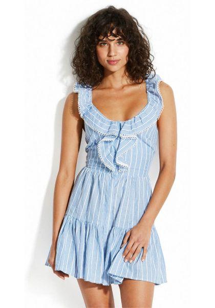 Seafolly Ruffle Stripe Dress