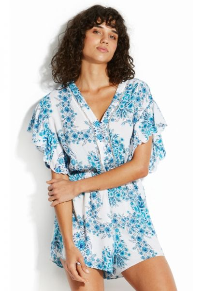 Seafolly Sunflower Wallpaper Playsuit