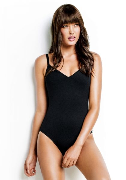 Seafolly Sweetheart Swimsuit Black