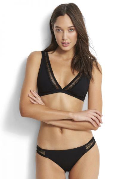 Wild at Heart Longline Triangel Bikini