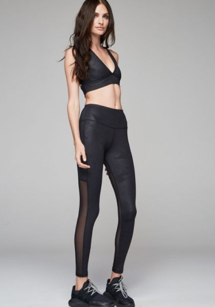 Varley Kingman Black Camo Leggings