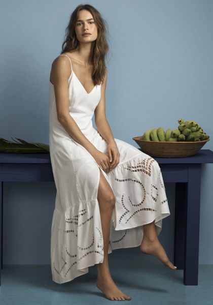 Vix White Elma Maxi Dress