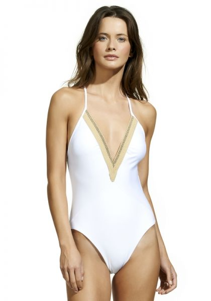 Vix Jute Detail Swimsuit