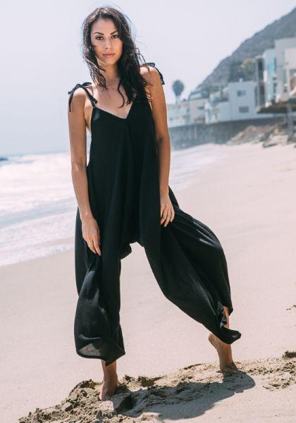 9Seed Bali Jumpsuit Black