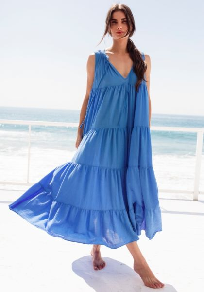 9seed lighthouse dress moroccan blue