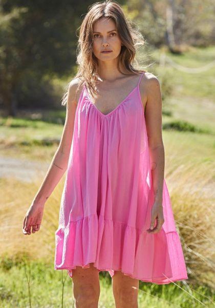 9Seed Tulum Dress Peony