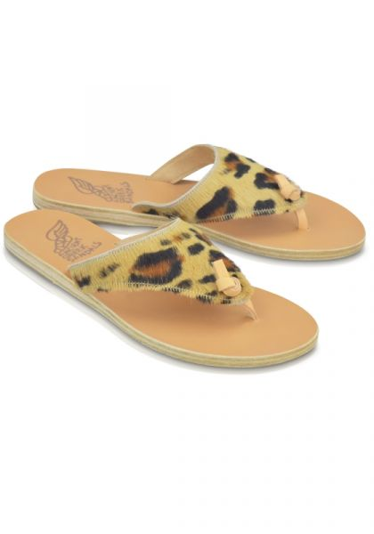 Ancient Greek Sandals Igia Leopard Sandals