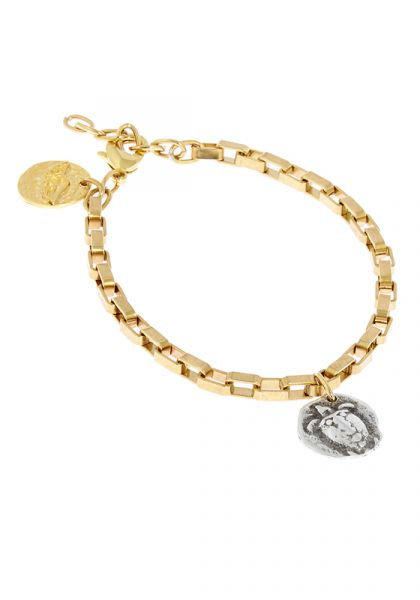 Ancient Greek Sandals Turtle Chain
