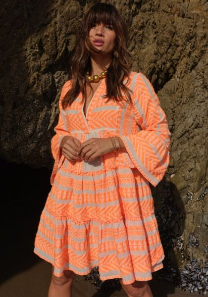 Devotion Ella Dress Neon Orange