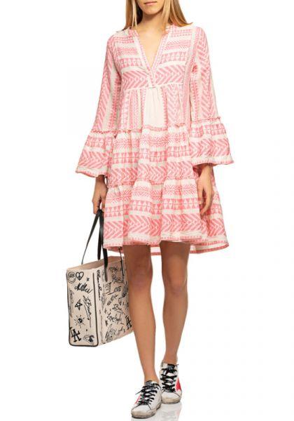 Devotion Ella Dress Pale Pink