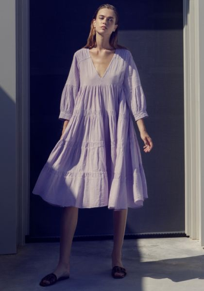 Devotion Lila Midi Dress