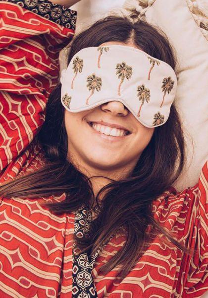 Elizabeth Scarlett African Palmier Eye Mask