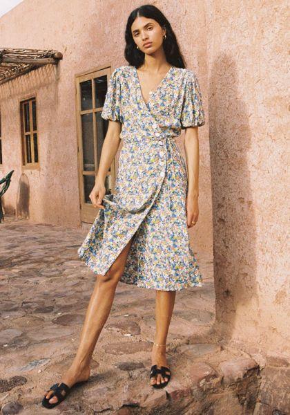 Faithfull The Brand Marta Midi Dress