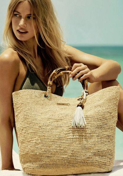 Heidi Klein Savannah Bamboo Bag Medium