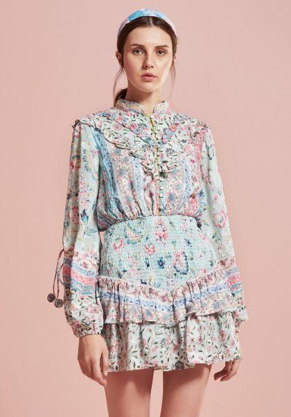 Hemant & Nandita Hana Mini Dress