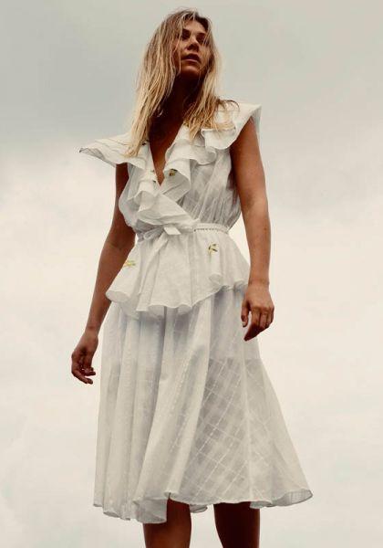 Innika Choo Sailor Wrap Dress