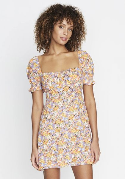 Faithfull The Brand Iris Mini Dress Meja Floral