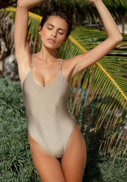Core Pebble Swimsuit Jade Swimwear