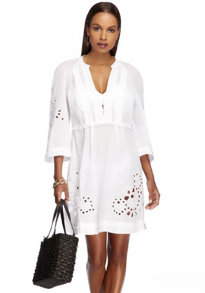 Jets By Jessika Allen Amour Tunic White