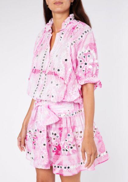Juliet Dunn Nomad Blouson Dress