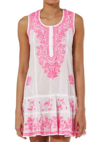 Juliet dunn Sleeveless Beach Dress