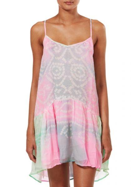 Juliet Dunn Tie Dye Dress Pink