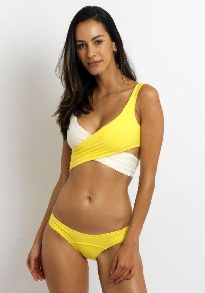 Lisa Marie Fernandez Marie Louise Bikini yellow