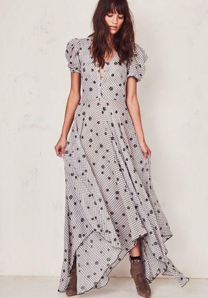 Loveshackfancy Coralie Check Dress
